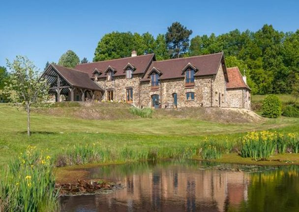 French property of the week: Luxury country house in Dordogne with pool and lake