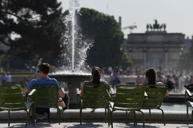 France's scorching early summer breaks weather records