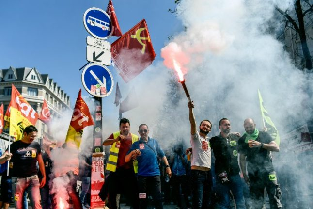 'Privatisation is hell': Protesting French rail workers defend their strikes