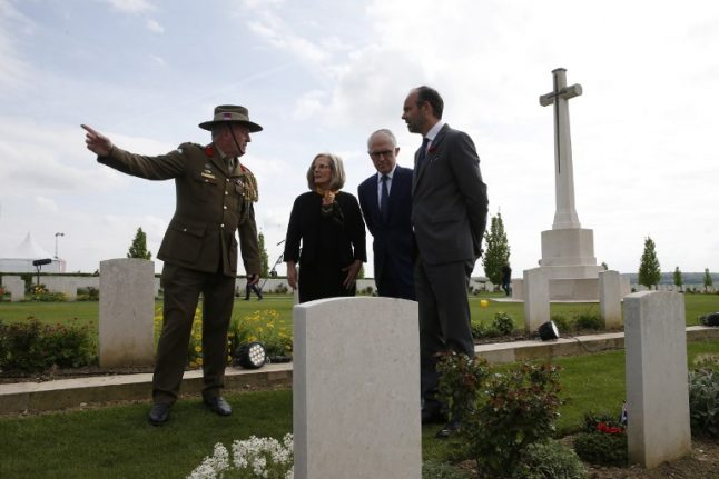 Thousands of Australians mark Anzac Day on France's Somme 100 years on