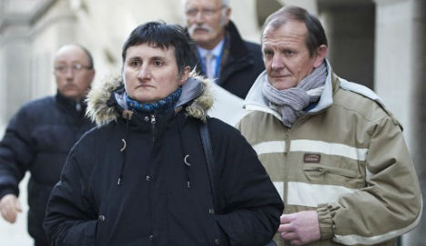 French murder suspect admits she beat au-pair with cable