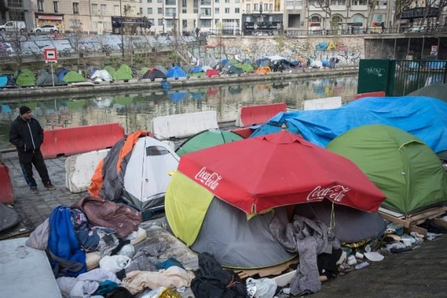 'At least there are no bombs': Concerns grow as Paris canal migrant camps swell