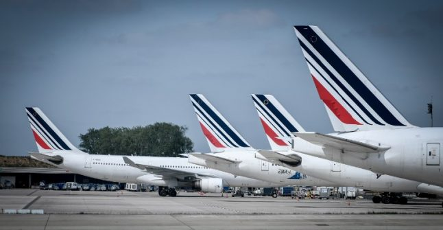 Air France cancels 15 percent of flights on Monday
