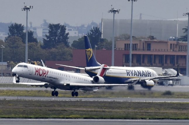 Scores of flights cancelled in France as air traffic controllers join strike