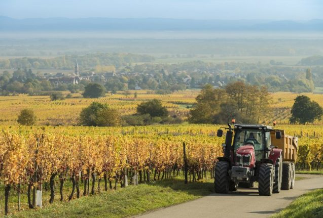 Drunk Frenchman on tractor runs over and kills two children