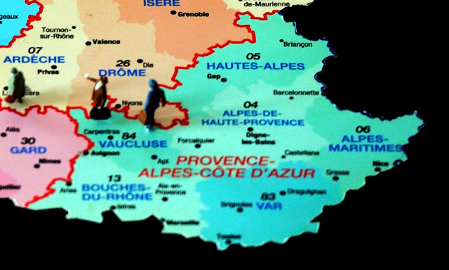 The 43 maps you need to understand Provence and the French Riviera