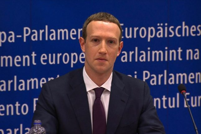 Zuckerberg in France: Facebook chief to face pressure on taxes from Macron