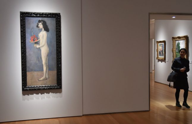 Picasso's $115-million 'Young Girl' to be loaned to Paris museum