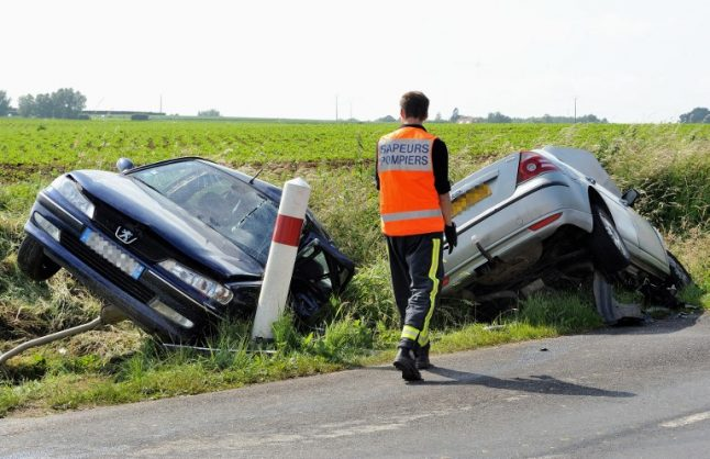 'British driver' killed in car crash in south west France