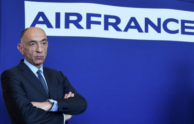 Air France head resigns after staff reject pay deal
