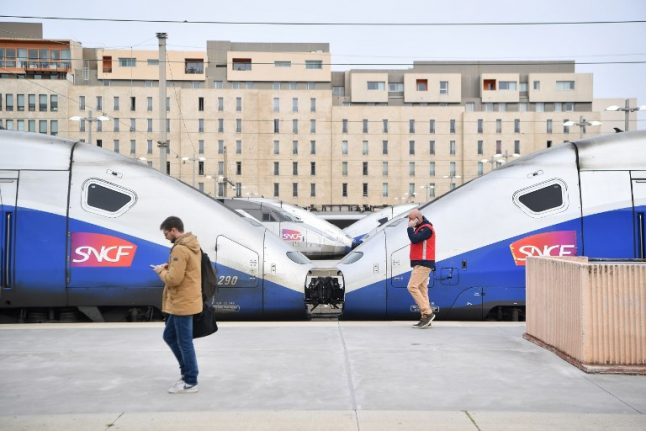 Train services hit as French rail unions vow to continue strike action