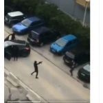 Masked gang armed with Kalashnikovs open fire in Marseille