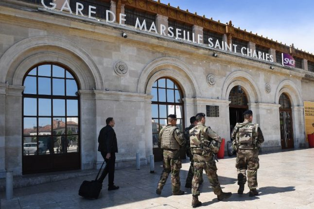 French police arrest alleged terror suspect at major railway station