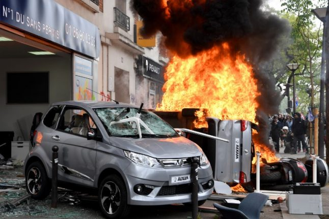 French government under fire after May Day violence in Paris