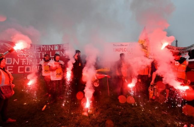 French rail strikers resort to sabotage as movement grows militant