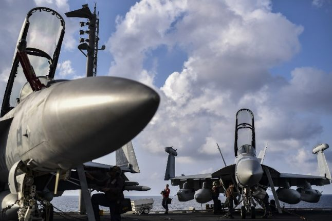 French, US fire backs advance against Isis in east Syria