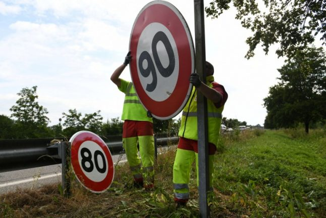 Road rage: Drivers seethe as France lowers speed limit