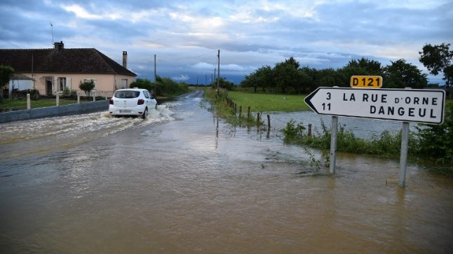 Yet more heavy rain and flooding forecast for northern and south west France