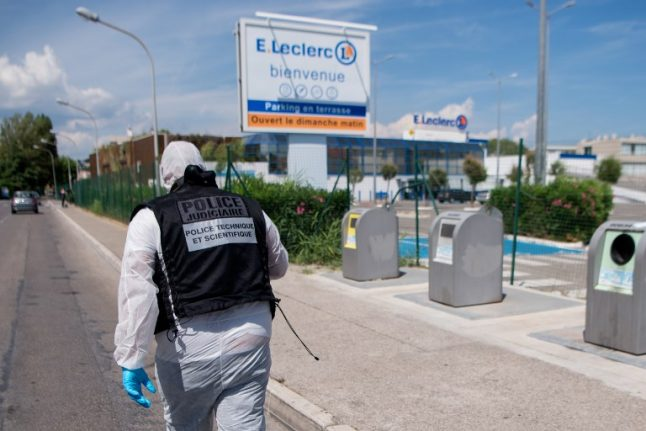 Woman charged over supermarket boxcutter attack in southern France