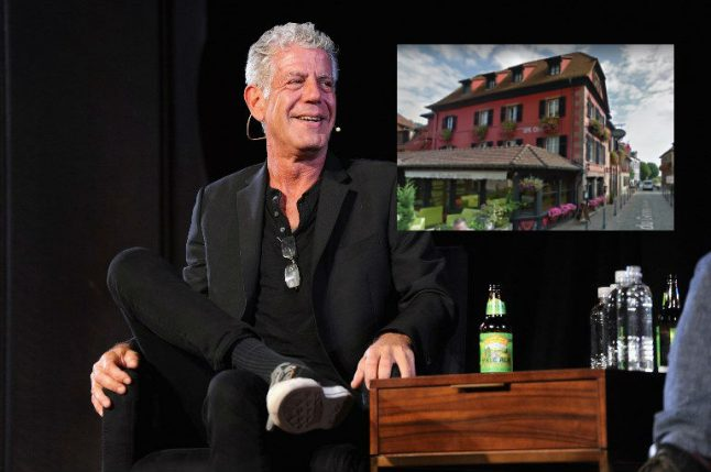 US celebrity chef Anthony Bourdain found dead in hotel room in eastern France