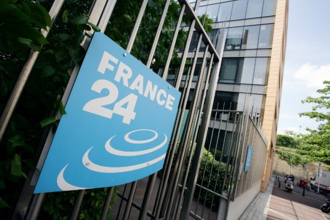 Russia accuses France 24 news channel of breaking media law