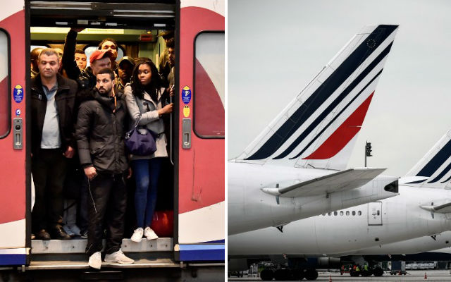 French rail and air strikes: Will France be spared a summer of transport misery?