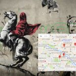 Map: Where to find the new Banksy artworks in Paris