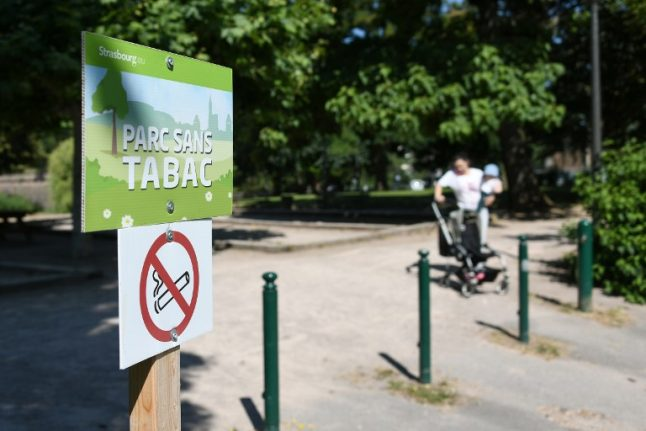 Strasbourg becomes first French city to ban smoking in parks