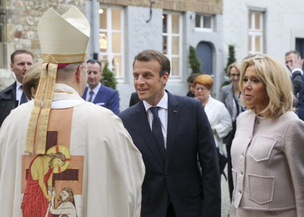 Meeting with Pope puts Macron's religious views in spotlight
