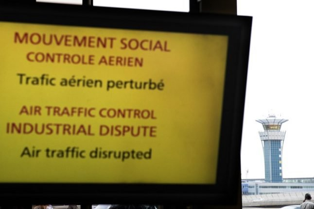 France crowned champions of air traffic control strikes