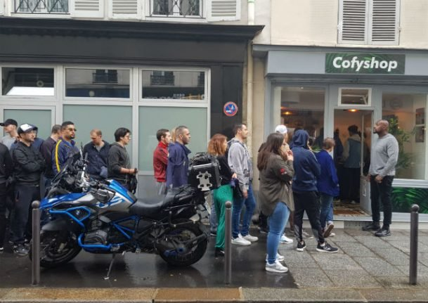 What's the story behind the new cannabis-selling 'coffee shops' in Paris?