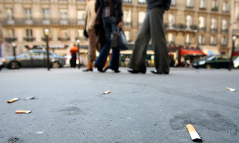 No butts: Should tobacco companies pay to clean up after French smokers?