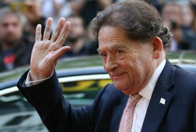 French officials vow to ignore campaign to block Lord Lawson's residency request