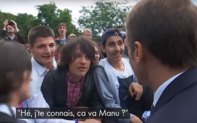 What happened to the French teen who got told off by Macron?