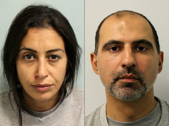 French couple sentenced to life for murdering au-pair in London