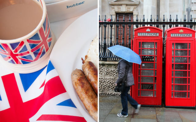 Crap food and constant drizzle: Have the French got the wrong idea about Britain?