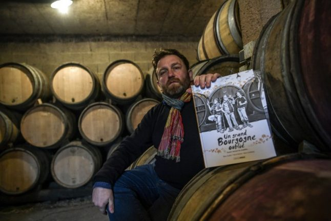 French discover new pleasure: adult comics about wine