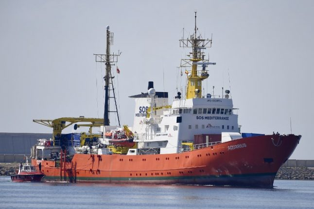 Majority of French 'reject safe harbour for Aquarius migrants'