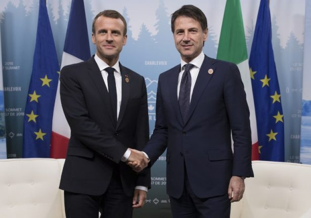 'I never meant to offend you': Macron tries to smooth over migrant row with Italy