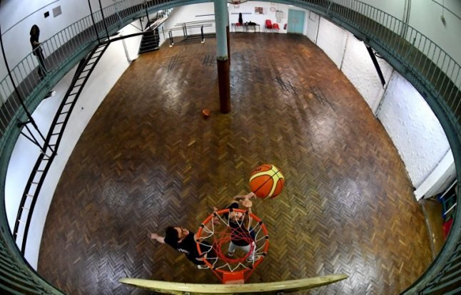 Paris: Historic 1893 basketball court needs help to bounce back
