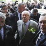 France's Le Pen out of hospital for 90th birthday party