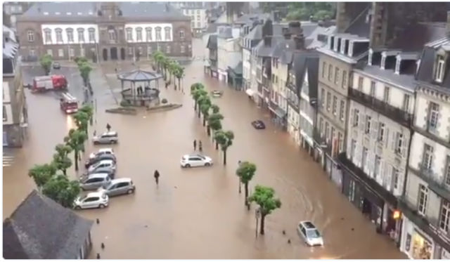 Brittany and eastern France braced as yet more violent storms roll in