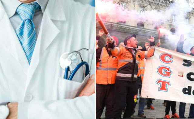 French doctor in hot water after 'refusing to treat striking rail workers'