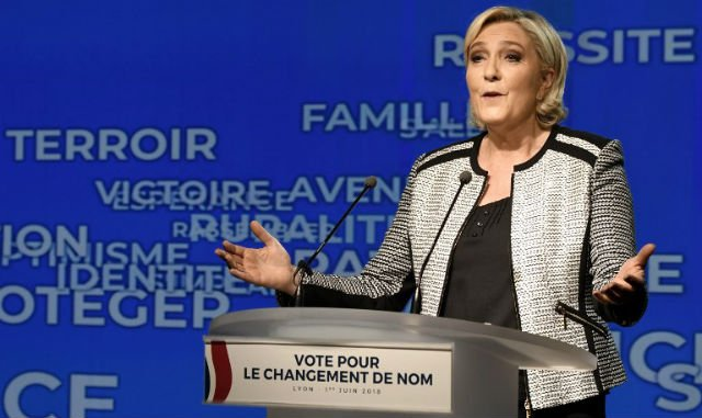French far-right party approves 'National Rally' name