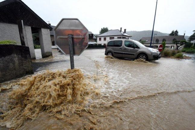 Flash floods in France claim two more lives with more storms to come