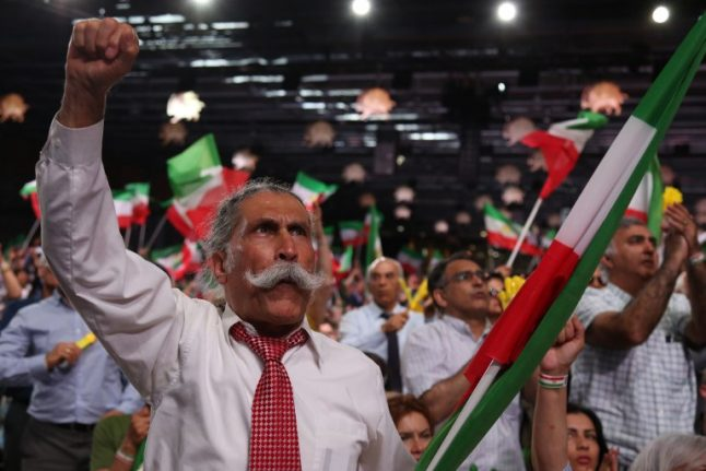 Two charged over plot to attack Iran opposition rally in France