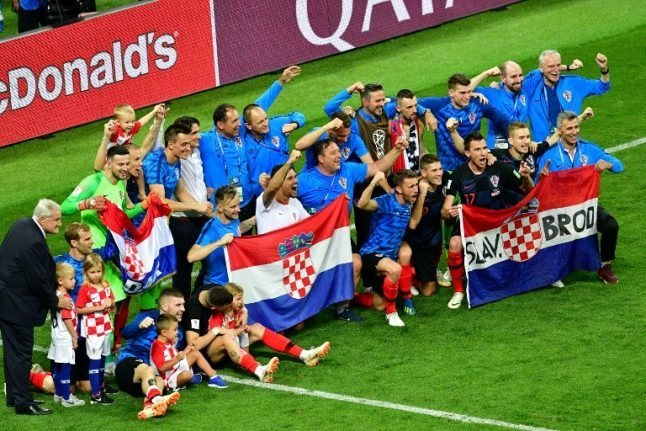 'We're ready for France': Croatia confident after reaching World Cup final