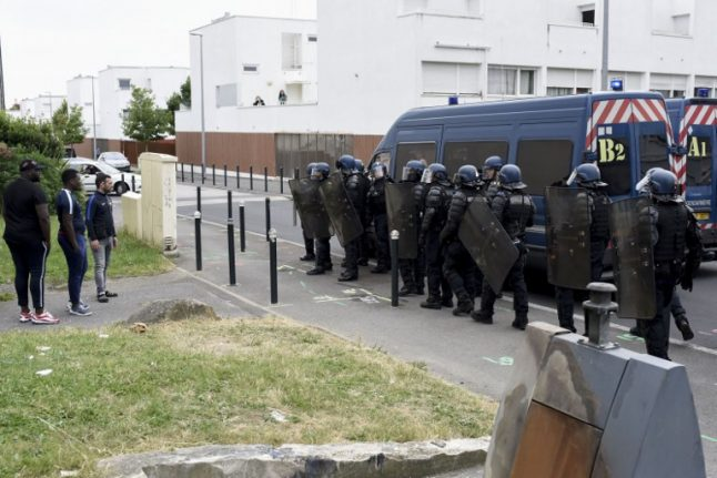 French city rocked by second night of major riots after deadly police shooting
