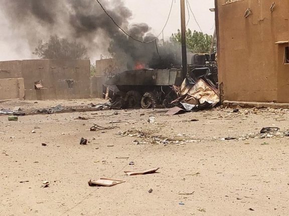'Terrorists' attack French soldiers in troubled Mali