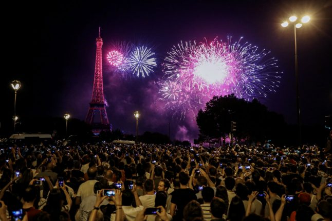 France marks Bastille Day with major military parade as World Cup final awaits